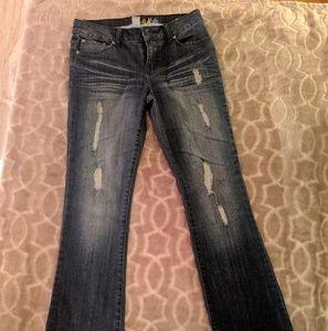 Mudd bootcut distressed jeans